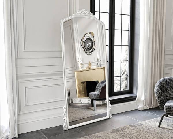 Avokado - Eva Peron Beyaz 190x90 Ayna