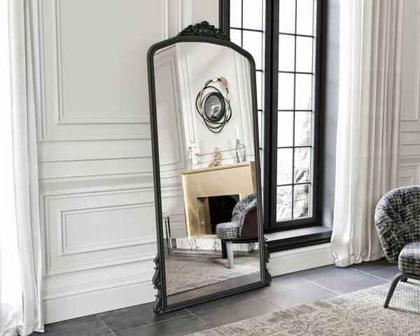 Avokado - Eva Peron Siyah 190x90 Ayna